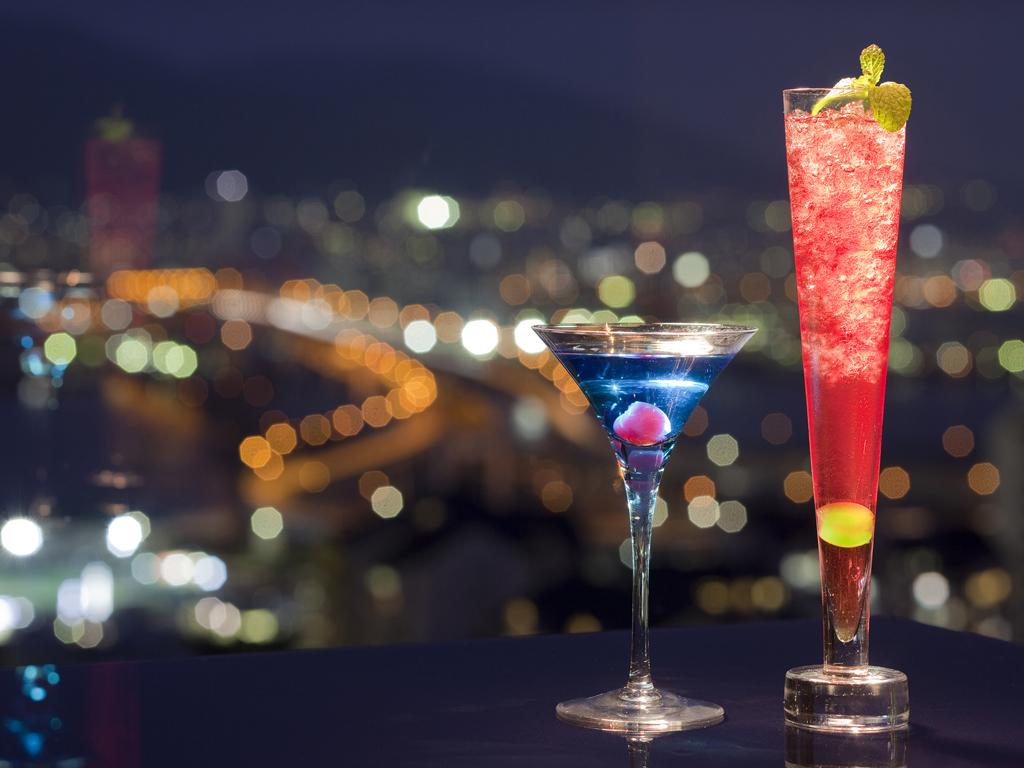 神戸1000万ドルの夜景を眺めながら