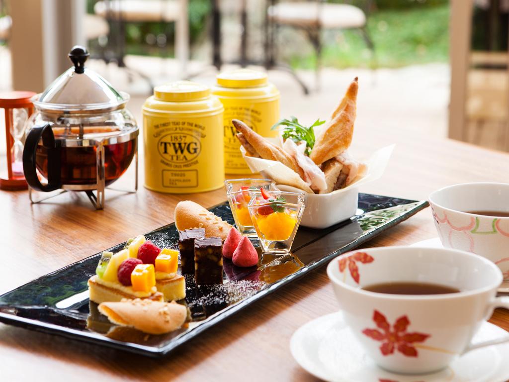 【Garden Cafe】ハイティーセット