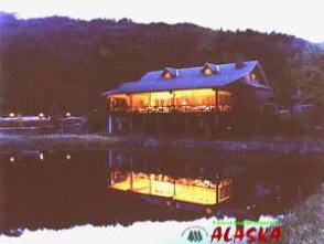 ご夕食は姉妹店森のログレストラン「アラスカ」で・・