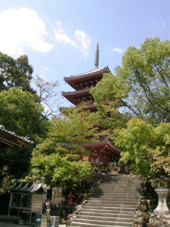 竹林寺 五重の塔