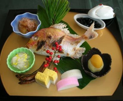 ご朝食(おせち料理)