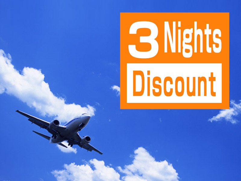 3 Nights Discount