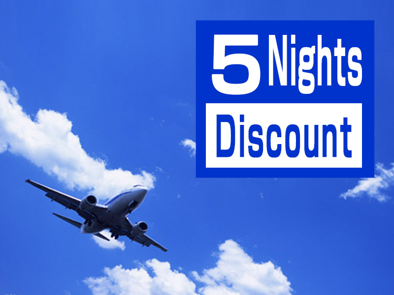 5 Nights Discount