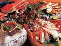 冬の日本海の味覚松葉蟹をご賞味ください