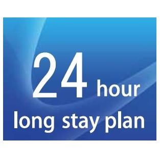 12時から翌12時まで24時間滞在可能です