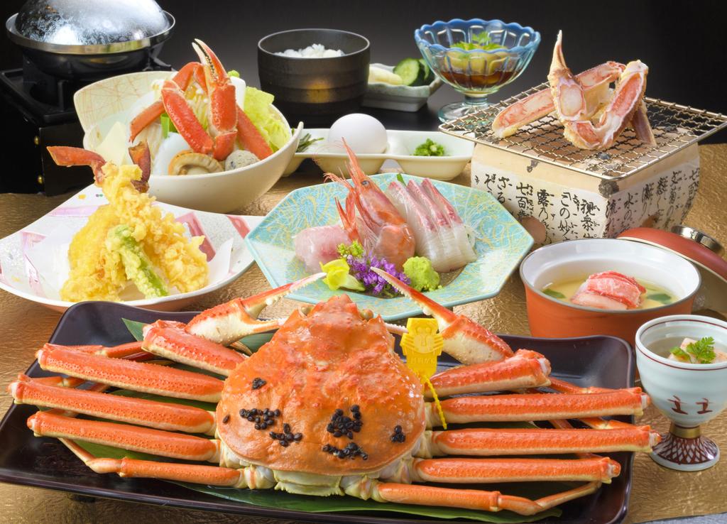 越前蟹500g付会席 お料理イメージ