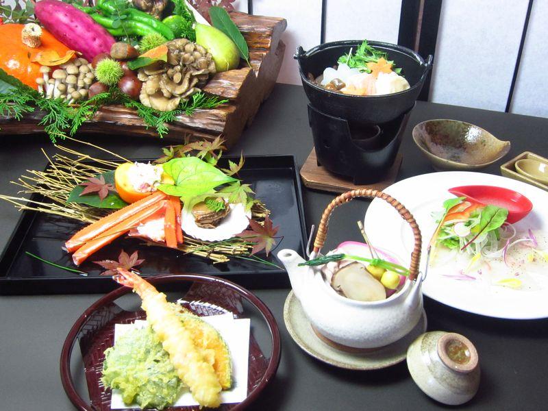 和食膳(秋料理例)