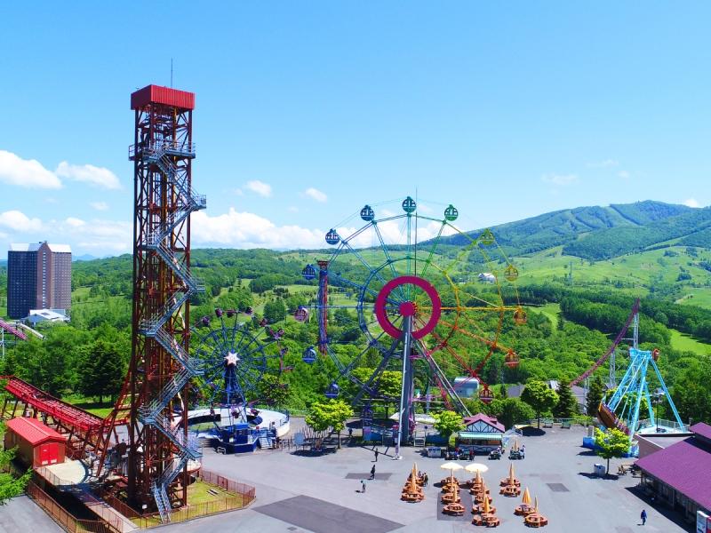 2016トリップアドバイザー国内遊園地部門第5位受賞のルスツリゾート遊園地