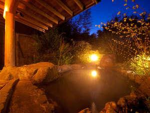 貸切露天『天の川の湯』】夜は静かな星空に癒され、朝は壮大な自然の優しさに包まて・・・