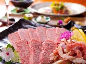 【ご夕食】 最高級豊後牛をはじめ素材の旨みと大地の恵みを生かした創作料理の数々を食す、至福のひととき