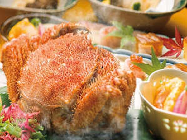冬の味覚♪茹で毛蟹(プランイメージ)