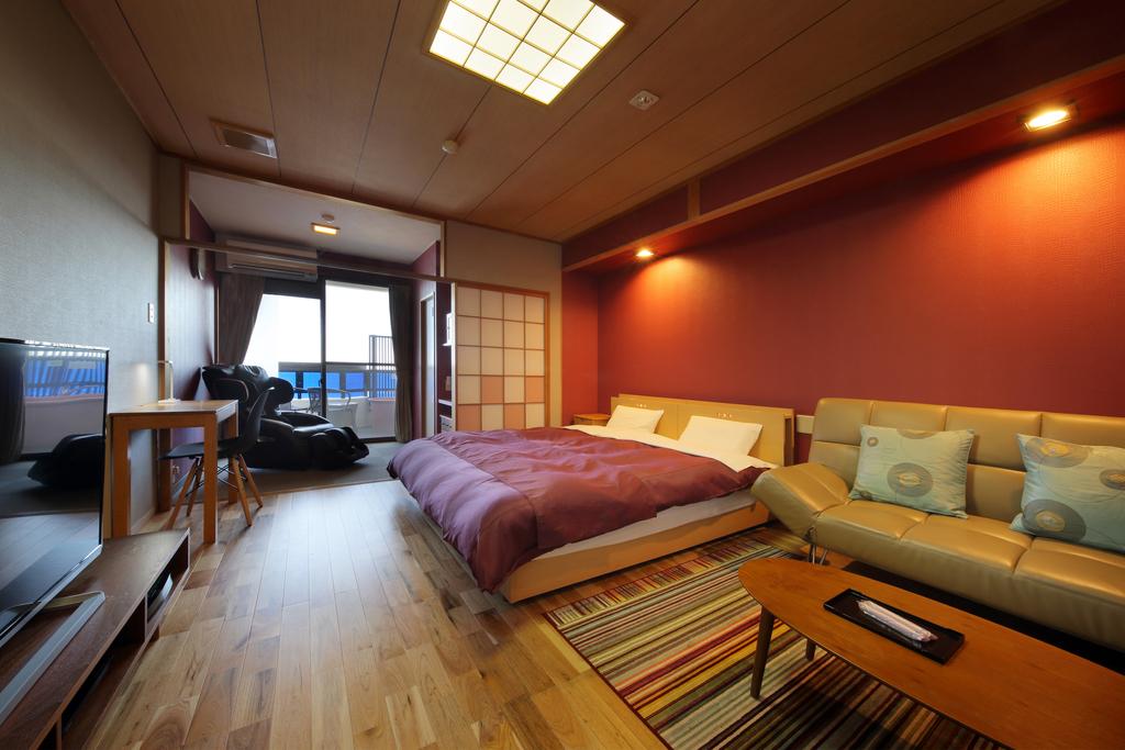 新岬感 洋室(ダブル) お部屋の一例です・・☆