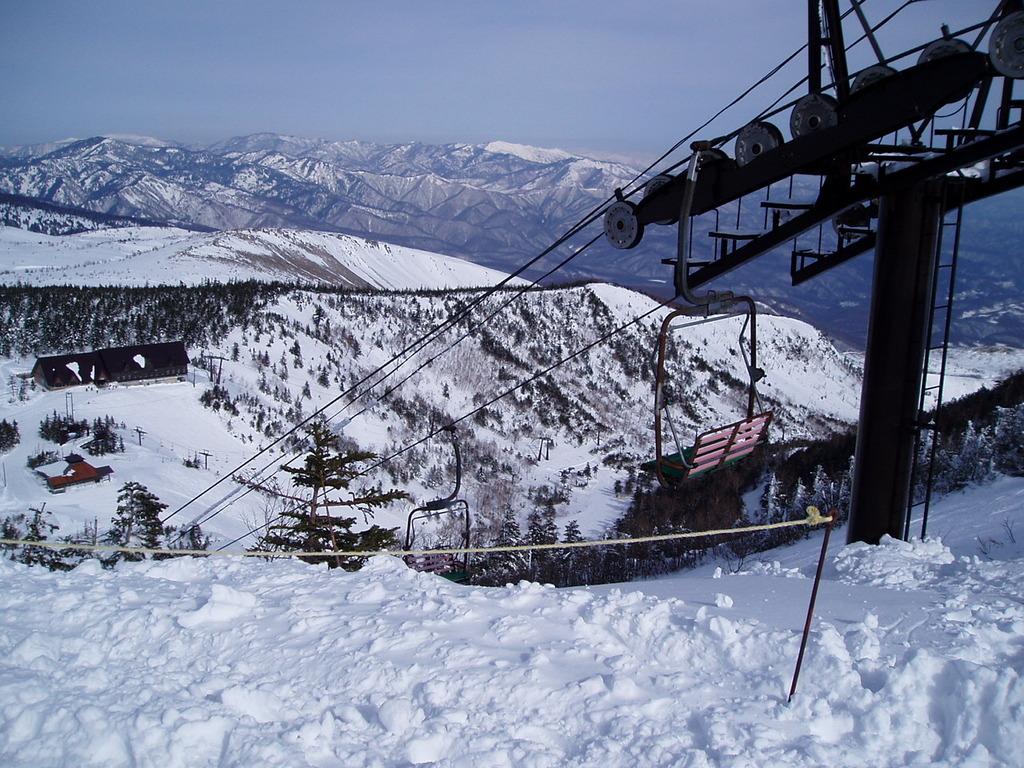 草津国際スキー場(本白根エリア)
