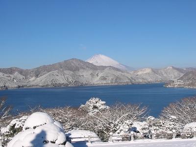 冬の芦ノ湖