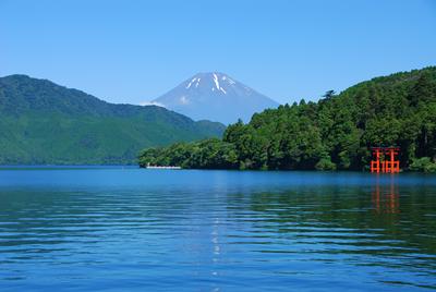 夏の芦ノ湖♪